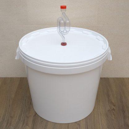 Бак для брожения с гидрозатвором на 26 л