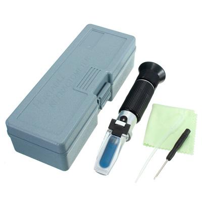 Комплект рефрактометра (рефрактометр, пипетка, отвертка, чехол, тряпочка)