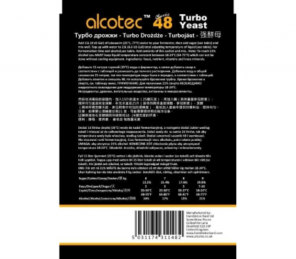 alcotec Turbo 48 Classic back side