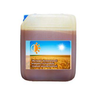 Экстракт ячменно-солодовый темный 7 кг
