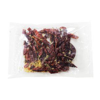 Перец красный чили сушеный (стручки)