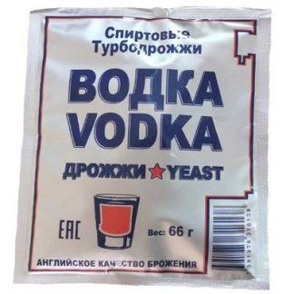 Спиртовые турбо дрожжи Водка Турбо