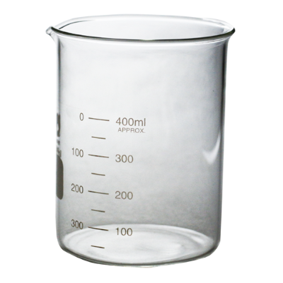 Стакан мерный стеклянный 400 мл
