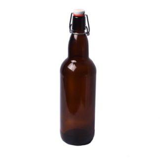 Бутылка с бугельной пробкой 1 л, 9 шт