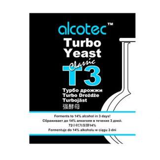 Дрожжи Alcotec Turbo T3