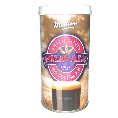 Пивной экстракт Muntons Midland Mild Ale