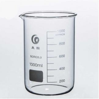Стакан мерный стеклянный со шкалой 1000 мл