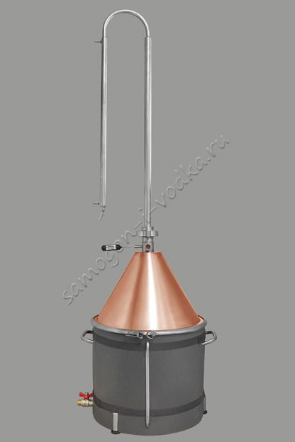 Куб ХД-37/ун maxima (D360) - в сборе с медной конусной крышкой