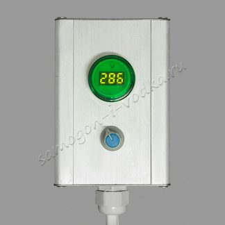 Регулятор мощности аналоговый с цифровым индикатором 0-3000Вт