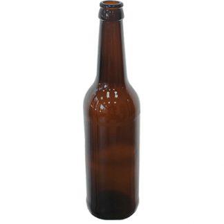 Бутылка пивная стеклянная коричневая 0,5 л
